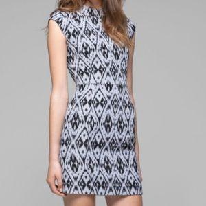 Theory Orinthia Ikat dress